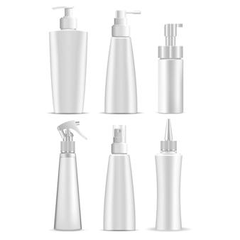 Emballage de produit cosmétique blanc