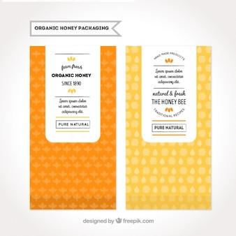Emballages pour miel biologique