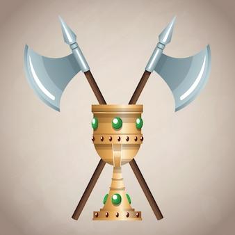 Emblème de l'armée médiévale
