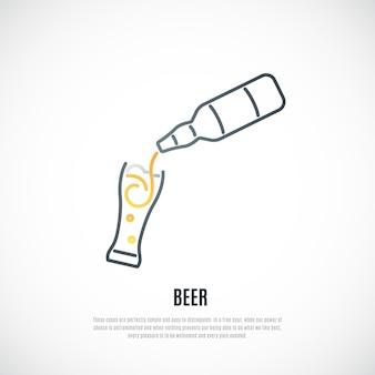 Emblème de la bière