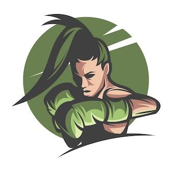 Emblème de boxe