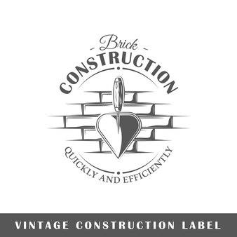 Emblème de la construction