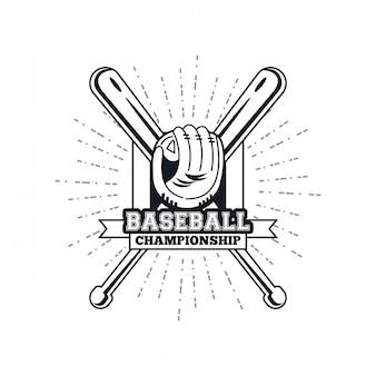 Emblème du championnat de baseball