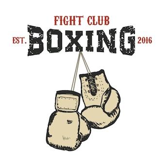 Emblème du club de boxe