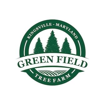 Emblème du logo de la ferme