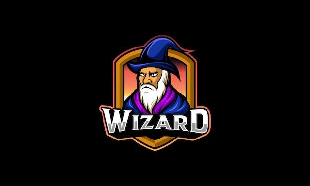 Emblème du logo wizard esport