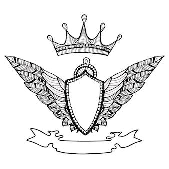 Emblème élégant desgin