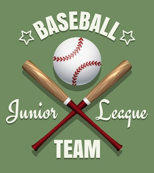 Emblème de l'équipe de baseball