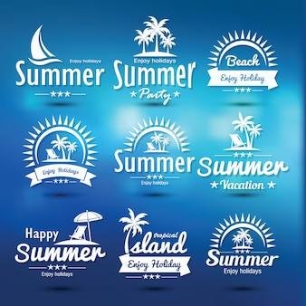 Emblème d'été