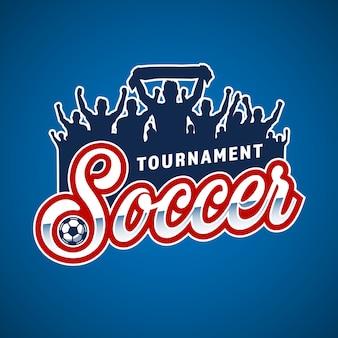 Emblème des fans de soccer