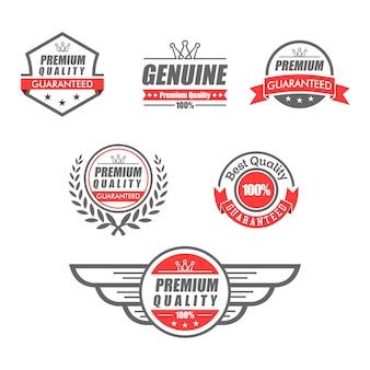Emblème garantie premium