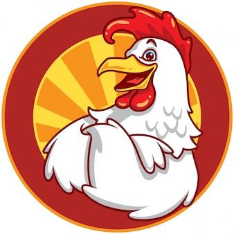 Emblème de poulet