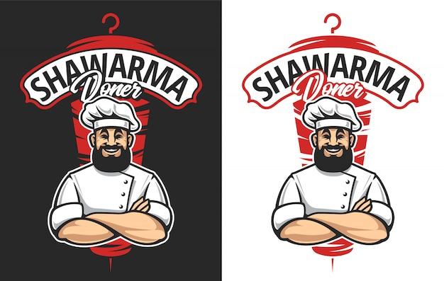 Emblème de shawarma