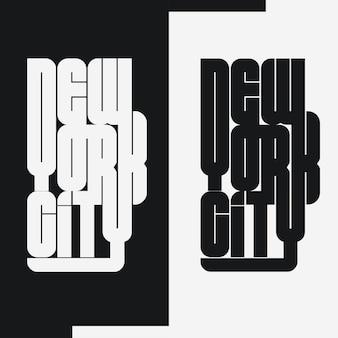 Emblème de typographie d'usure de new york city sport, graphiques de timbre de t-shirt, impression de tee-shirt, vêtements de sport.