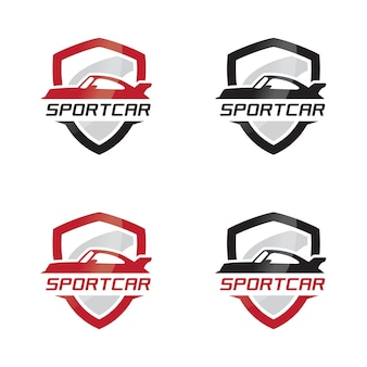Emblème de voitures sportives logo