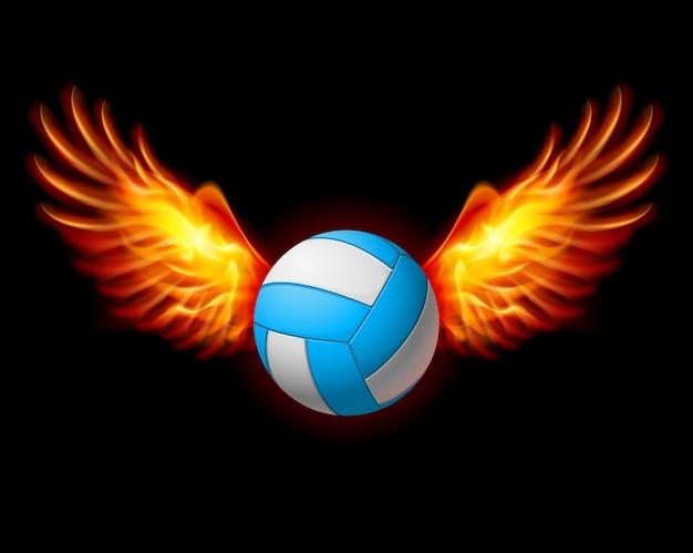 Emblème de volleyball