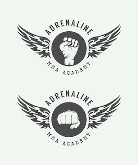Emblèmes d'arts martiaux mixtes
