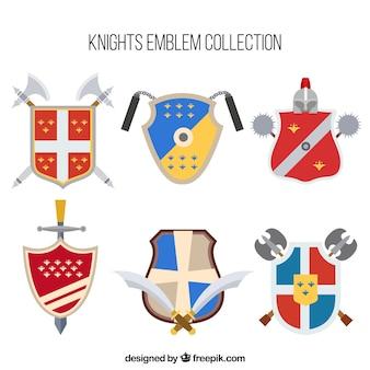 Emblèmes de chevalier