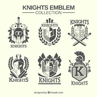 Emblèmes du chevalier traditionnel