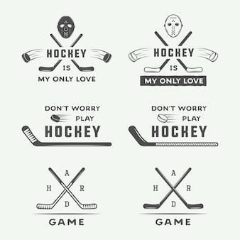 Emblèmes de hockey, logo