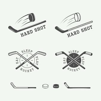 Emblèmes de hockey