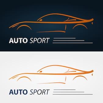 Emblèmes de voitures modernes.