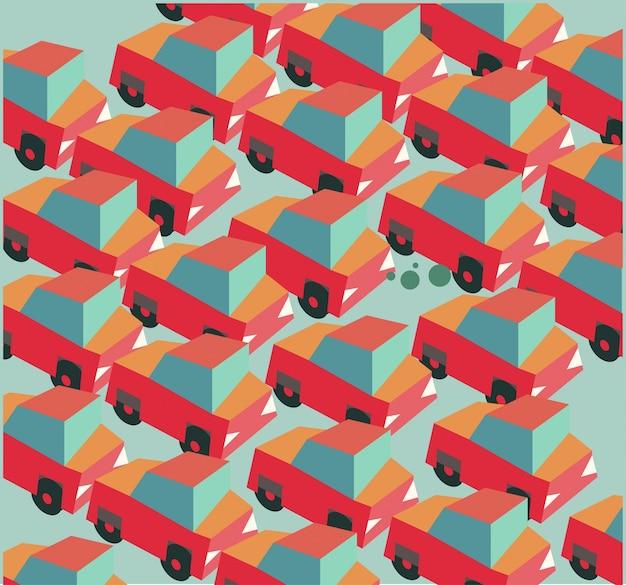 Embouteillage de voiture