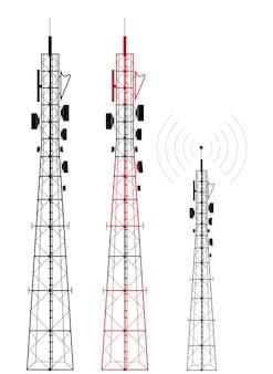 Emetteur de signal de réseau téléphonique cellulaire