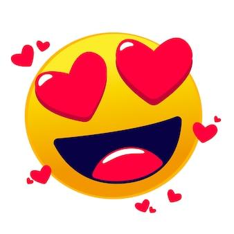 Emoji d'amour mignon