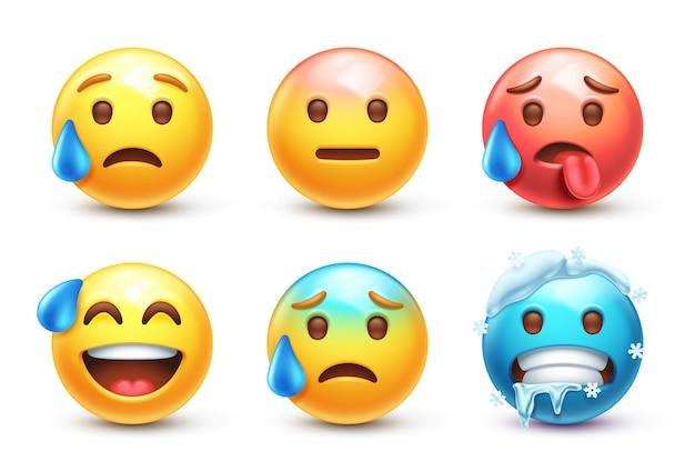 Emoji chaud et froid