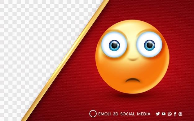 Emoji avec un visage surpris