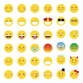 Émoticône emoji smiley