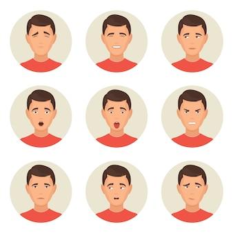 Les émotions face aux personnages