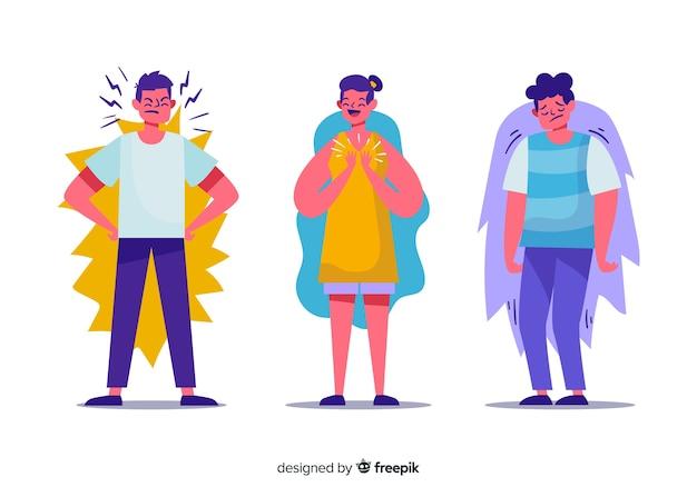 Émotions des jeunes