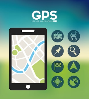 Emplacement gps