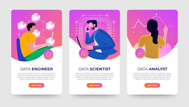 Emplois de données