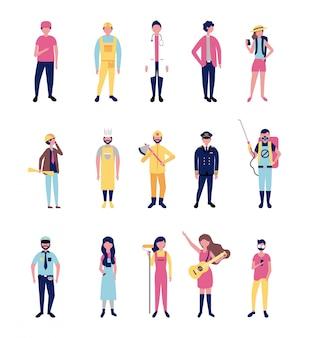 Emplois de professionnels vêtements de travail