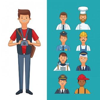 Emplois et professions