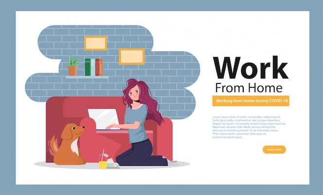 Les employés travaillent à domicile pour éviter de propager le coronavirus.