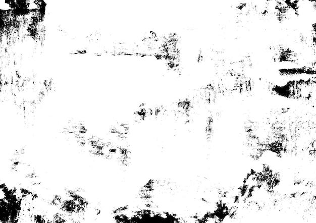 Encre grunge texture urbaine imprimée à la main abstract old vintage monochrome print vector illustration
