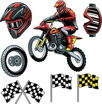 Enduro motocross
