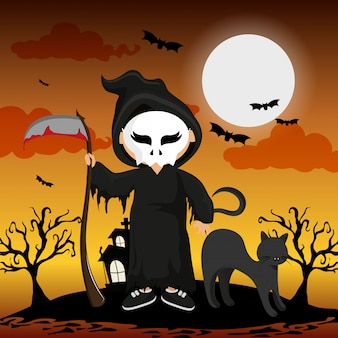 Enfant et halloween