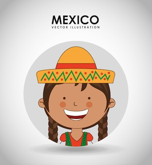 Enfant mexicain
