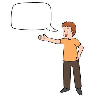Enfant qui parle