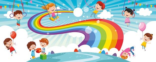 Enfants arc-en-ciel