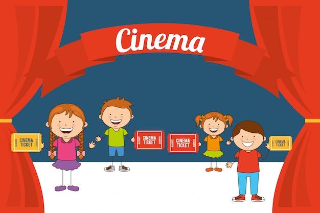 Enfants cinéphiles