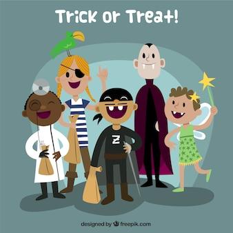 Enfants costume d'halloween