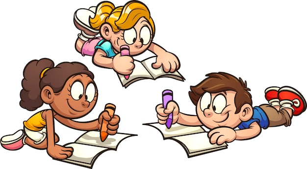 Enfants dessin