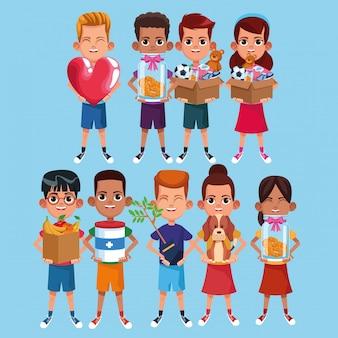 Enfants et dessins animés
