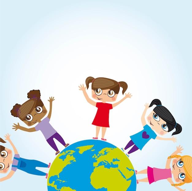 Des enfants du monde entier